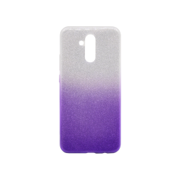 Huawei Mate 20 Lite - Gumiran ovitek (TPUB) - vijolična