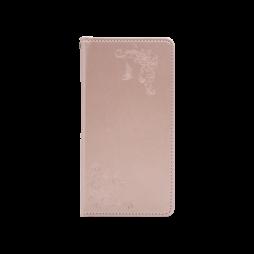 Huawei Mate 20 Lite - Preklopna torbica (WLGO-Butterfly) - roza-zlata