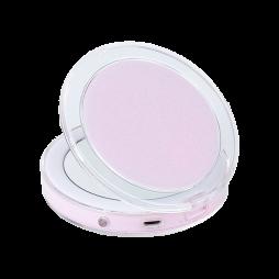 Žepno LED ogledalo za ličenje - roza
