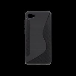 HTC Desire 12 - Gumiran ovitek (TPU) - črn CS-Type