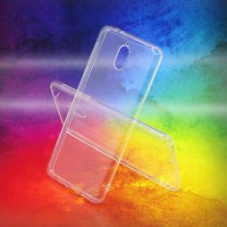 Nokia 3.1 - Gumiran ovitek (TPUA) - prosojen