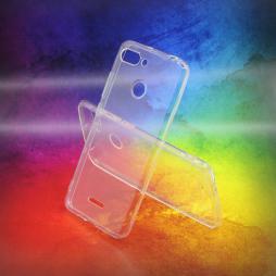 Xiaomi Redmi 6 - Gumiran ovitek (TPUA) - prosojen