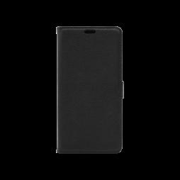 LG Q Stylus - Preklopna torbica (WLG) - črna