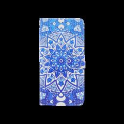 Apple iPhone XS Max - Preklopna torbica (WLGP) - Retro totem flower