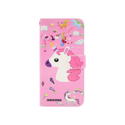 Apple iPhone XR - Preklopna torbica (WLGP) - Unicorn