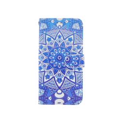 Apple iPhone XR - Preklopna torbica (WLGP) - Retro totem flower