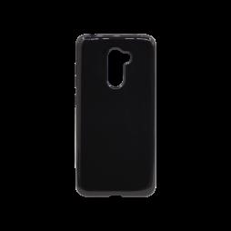 Xiaomi Pocophone F1 - Gumiran ovitek (TPU) - črn svetleč