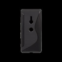 Sonx Xperia XZ3 - Gumiran ovitek (TPU) - črn CS-Type