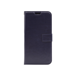 Huawei Mate 20 Lite - Preklopna torbica (WLC) - temno modra