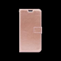 Huawei Mate 20 Lite - Preklopna torbica (WLC) - roza-zlata