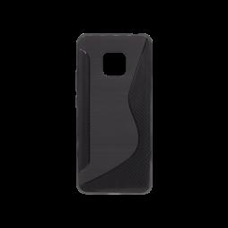 Huawei Mate 20 Pro - Gumiran ovitek (TPU) - črn CS-Type