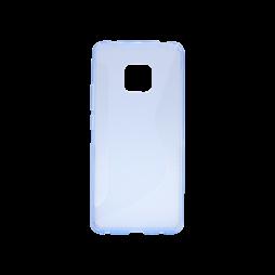 Huawei Mate 20 Pro - Gumiran ovitek (TPU) - modro-prosojen CS-Type