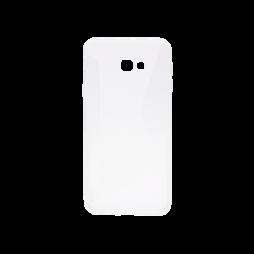 Samsung Galaxy J4+ (2018) - Gumiran ovitek (TPU) - belo-prosojen CS-Type