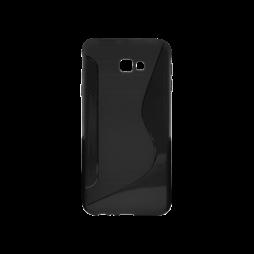 Samsung Galaxy J4+ (2018) - Gumiran ovitek (TPU) - črn CS-Type