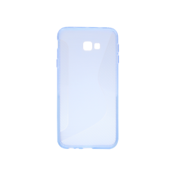 Samsung Galaxy J4+ (2018) - Gumiran ovitek (TPU) - modro-prosojen CS-Type
