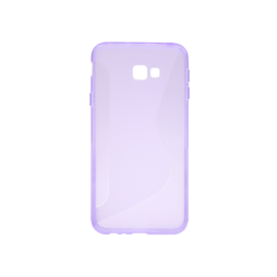 Samsung Galaxy J4+ (2018) - Gumiran ovitek (TPU) - vijolično-prosojen CS-Type