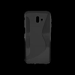 Samsung Galaxy J6+ (2018) - Gumiran ovitek (TPU) - črn CS-Type