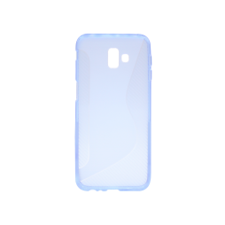 Samsung Galaxy J6+ (2018) - Gumiran ovitek (TPU) - modro-prosojen CS-Type