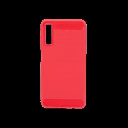 Samsung Galaxy A7 (2018) - Gumiran ovitek (TPU) - rdeč A-Type