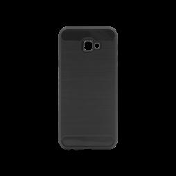 Samsung Galaxy J4+ (2018) - Gumiran ovitek (TPU) - črn A-Type