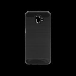 Samsung Galaxy J6+ (2018) - Gumiran ovitek (TPU) - črn A-Type