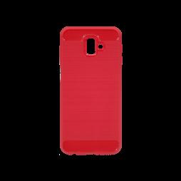 Samsung Galaxy J6+ (2018) - Gumiran ovitek (TPU) - rdeč A-Type