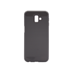 Samsung Galaxy J6+ (2018) - Gumiran ovitek (TPU) - siv A-Type