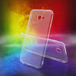Samsung Galaxy J4+ (2018) - Gumiran ovitek (TPUA) - prosojen