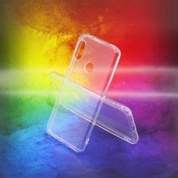 Xiaomi Mi A2 Lite - Gumiran ovitek (TPUA) - prosojen