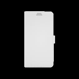 Huawei Mate 20 Pro - Preklopna torbica (WLG) - bela