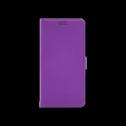 Samsung Galaxy A7 (2018) - Preklopna torbica (WLG) - vijolična