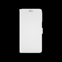 Samsung Galaxy J4+ (2018) - Preklopna torbica (WLG) - bela