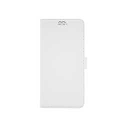 Samsung Galaxy J6+ (2018) - Preklopna torbica (WLG) - bela