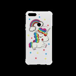 Huawei Y7 Prime (2018) - Gumiran ovitek (TPUP) - Unicorn