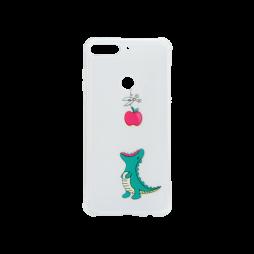 Huawei Y7 Prime (2018) - Gumiran ovitek (TPUP) - Dinosaur
