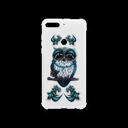 Huawei Y7 Prime (2018) - Gumiran ovitek (TPUP) - Sleepy owl