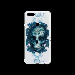Huawei Y7 Prime (2018) - Gumiran ovitek (TPUP) - Skull