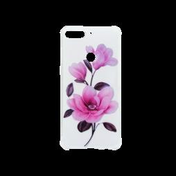 Huawei Y7 Prime (2018) - Gumiran ovitek (TPUP) - Blossom