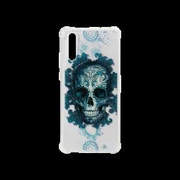 Huawei P20 - Gumiran ovitek (TPUP) - Skull