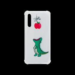 Huawei P20 Pro - Gumiran ovitek (TPUP) - Dinosaur