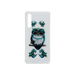 Huawei P20 Pro - Gumiran ovitek (TPUP) - Sleepy owl