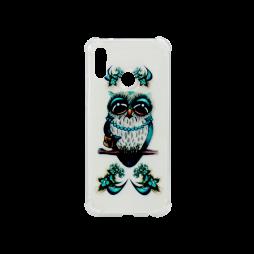 Huawei P20 Lite - Gumiran ovitek (TPUP) - Sleepy owl