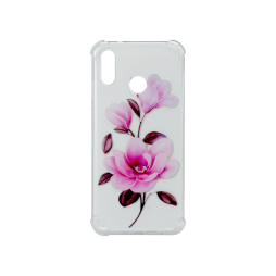 Huawei P20 Lite - Gumiran ovitek (TPUP) - Blossom