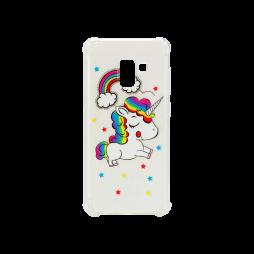 Samsung Galaxy A8 (2018) - Gumiran ovitek (TPUP) - Unicorn