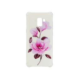 Samsung Galaxy A8 (2018) - Gumiran ovitek (TPUP) - Blossom