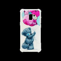 Samsung Galaxy A8 (2018) - Gumiran ovitek (TPUP) - Bear