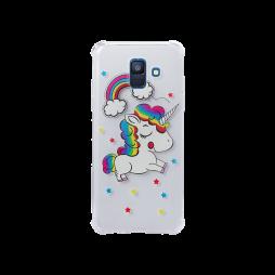 Samsung Galaxy A6 (2018) - Gumiran ovitek (TPUP) - Unicorn