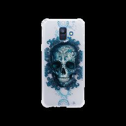 Samsung Galaxy A6 (2018) - Gumiran ovitek (TPUP) - Skull