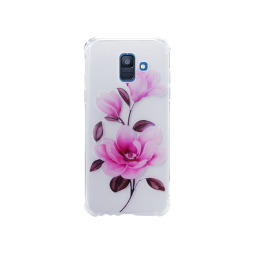 Samsung Galaxy A6 (2018) - Gumiran ovitek (TPUP) - Blossom