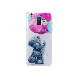 Samsung Galaxy A6 (2018) - Gumiran ovitek (TPUP) - Bear